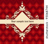 background pattern | Shutterstock .eps vector #95068744