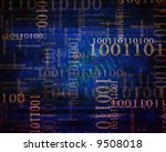 bits and bytes background | Shutterstock . vector #9508018