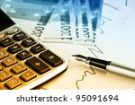 accounting. | Shutterstock . vector #95091694