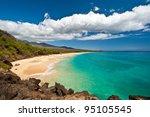 Makena Beach  In Maui  Hawaii