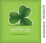 saint patrick's day design   Shutterstock .eps vector #95135473