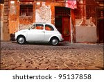 Rome   September 13  A Fiat 500 ...