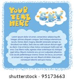 background for card with text... | Shutterstock .eps vector #95173663