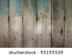close up old door make with... | Shutterstock . vector #95195539