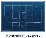 house project vector background | Shutterstock .eps vector #95219050