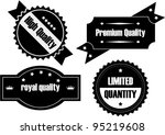 collection of premium quality... | Shutterstock .eps vector #95219608