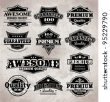 collection of premium quality... | Shutterstock .eps vector #95229790