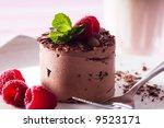 Chocolate Moose Dessert On A...