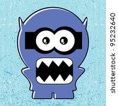 monster   Shutterstock .eps vector #95232640