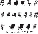 furniture collection | Shutterstock .eps vector #9524167