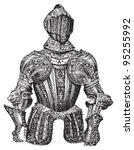knight armour  cuirass   ...   Shutterstock .eps vector #95255992