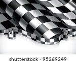 checkered background  vector | Shutterstock .eps vector #95269249