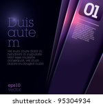 design template   suitable for... | Shutterstock .eps vector #95304934