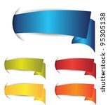 set of colorful banner or... | Shutterstock .eps vector #95305138