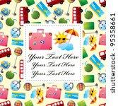 travel card | Shutterstock .eps vector #95358661