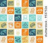 household check pattern | Shutterstock .eps vector #9537526