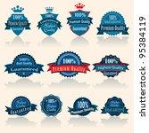 vector illustration of blue...   Shutterstock .eps vector #95384119