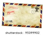 Vintage Envelope With Usa...
