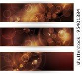 vector header  banner set.... | Shutterstock .eps vector #95401384