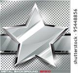 metal background.vector... | Shutterstock .eps vector #95448856