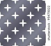 cross perforated seamless steel ...   Shutterstock .eps vector #95475022