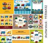 truck card | Shutterstock .eps vector #95506432