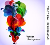colorful abstract background... | Shutterstock .eps vector #95522467