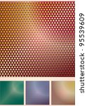 set of the abstract coloured... | Shutterstock .eps vector #95539609