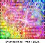 sequin rainbow background