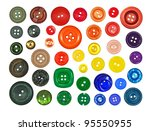 collection of various buttons... | Shutterstock . vector #95550955
