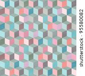 seamless geometric patter.... | Shutterstock . vector #95580082