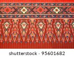 thai tradition background | Shutterstock . vector #95601682