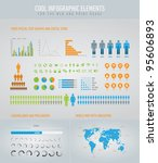 cool infographic elements for... | Shutterstock .eps vector #95606893