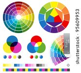 Color Guides Vector Illustration