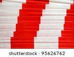 barrier tape | Shutterstock . vector #95626762