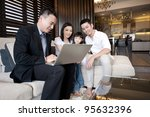 asian family lifestyle | Shutterstock . vector #95632396
