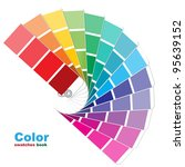 color swatches. vector... | Shutterstock .eps vector #95639152