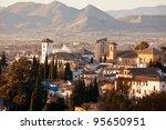 granada in spain | Shutterstock . vector #95650951