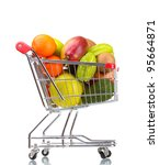 Assortment Of Exotic Fruits  In ...