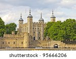 Tower Of London  England  Uk