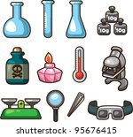 science web icons   Shutterstock .eps vector #95676415