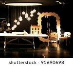 milan   april 15  interior... | Shutterstock . vector #95690698