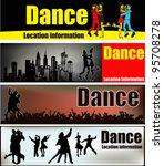 ballroom dancing web banner... | Shutterstock .eps vector #95708278