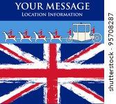 jubilee message  vector flyer...   Shutterstock .eps vector #95708287
