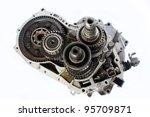 automobile gear box part on... | Shutterstock . vector #95709871