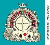 casino | Shutterstock .eps vector #95710900