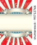 usa colors poster | Shutterstock .eps vector #95712766
