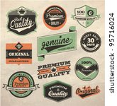 vintage style premium and high... | Shutterstock .eps vector #95716024