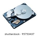 Hard Disk Drive Hdd Isolated O...