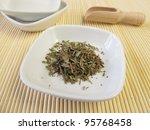 wild thyme  serpylli herba | Shutterstock . vector #95768458
